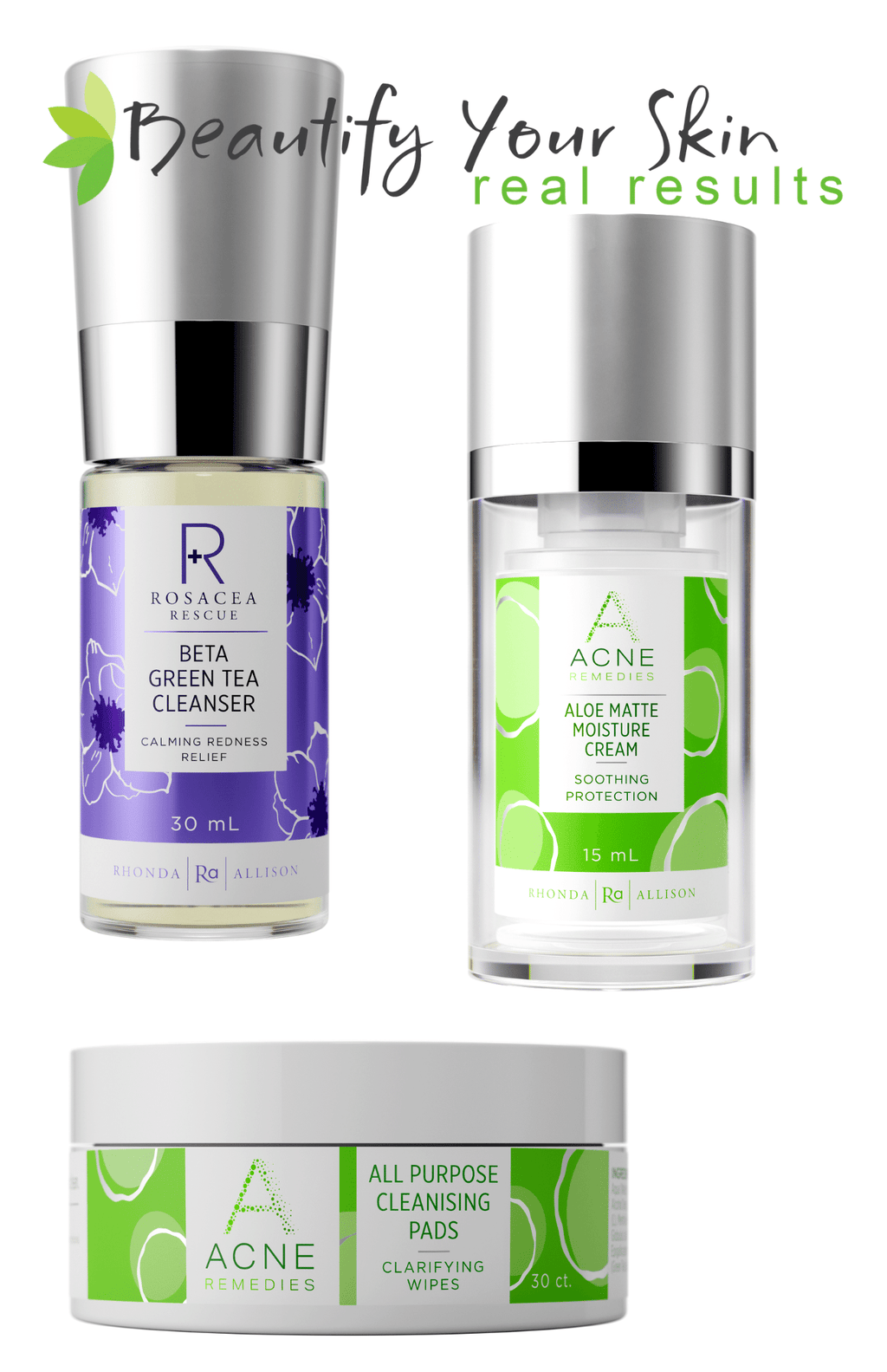 Acne Rescue Set & Teen Beginner Set