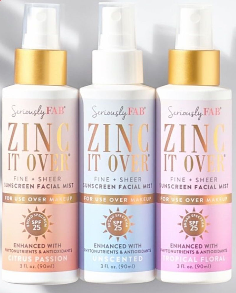 ZINC IT OVER® Spray on Sunscreen