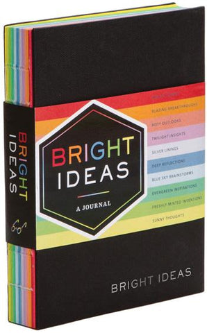 Bright Ideas Journal : A Journal With 10 Shades of Inspiration