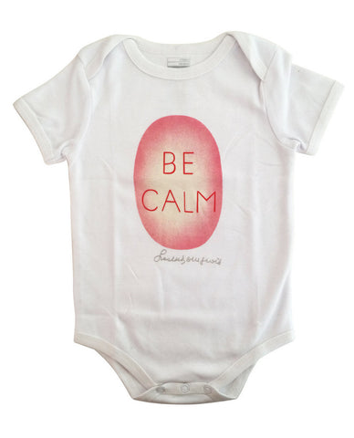 Be Calm Babysuit by Louise Bourgeois