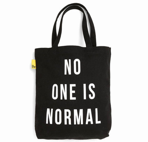 No One Is Normal Tote Bag