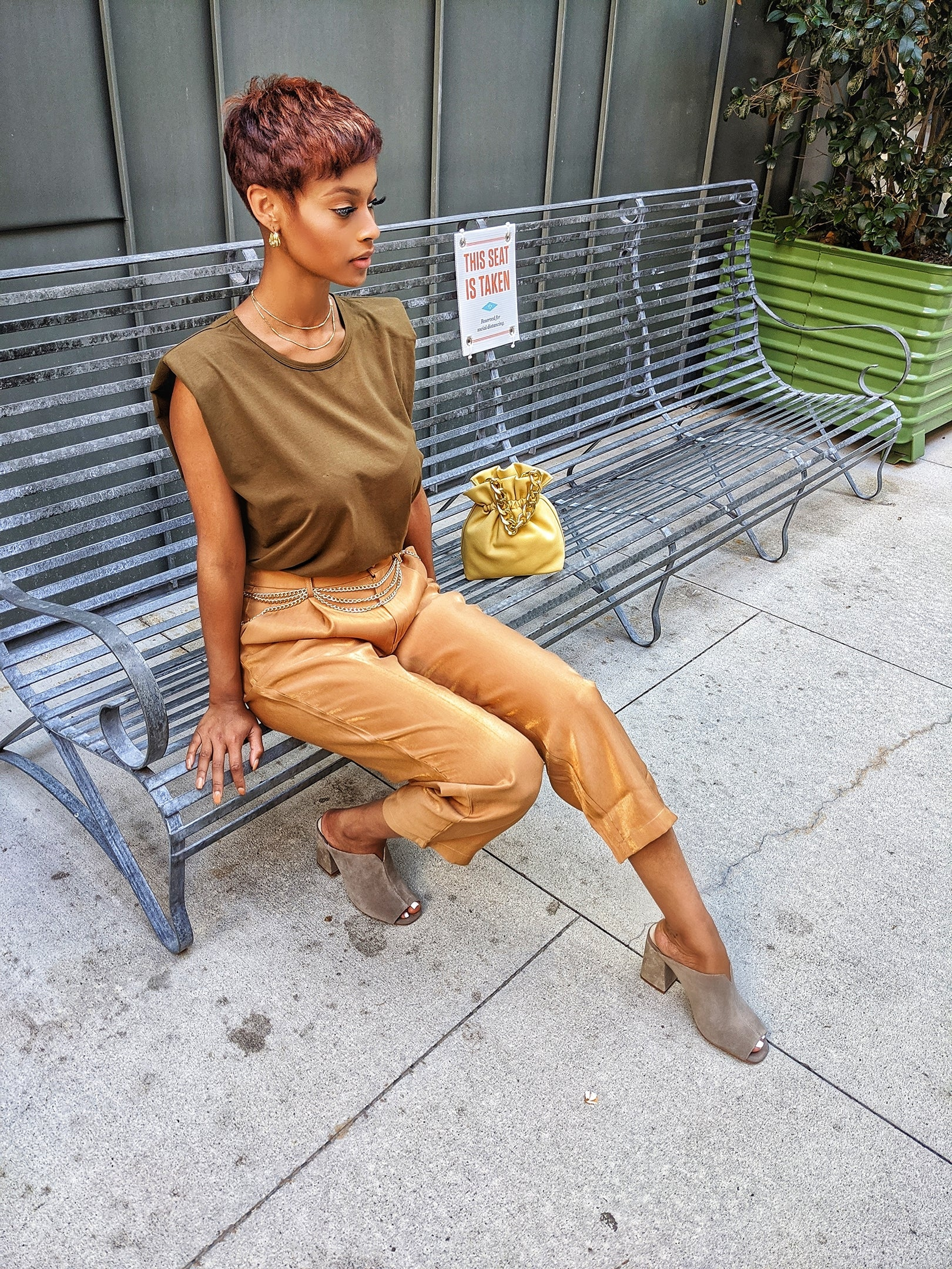 Goldie High Waist Pant