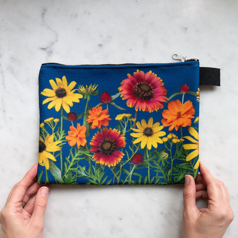 Botanical Bag ~ Sunflowers, cosmos, black eyed susan