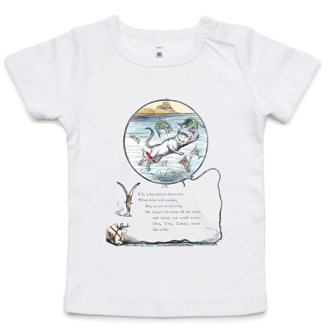 Swim like a fish - Infant Wee Tee
