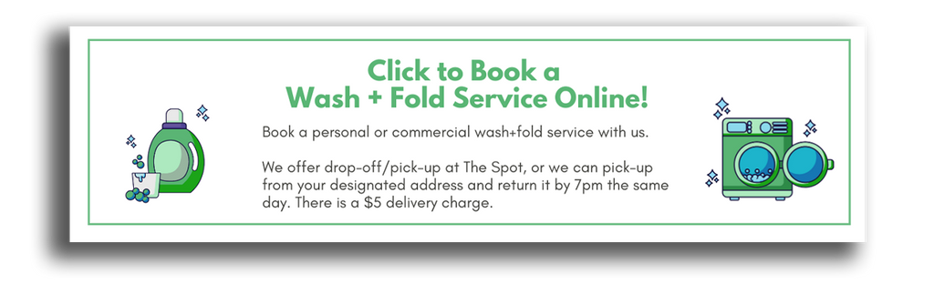 Book a Laundry Service - Commercial or Personal