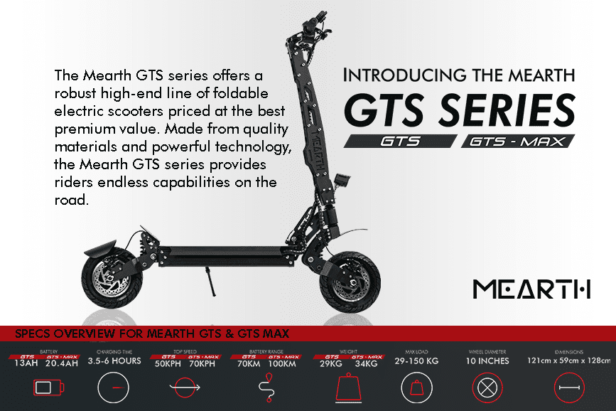 Mearth Launches Endless Off-road Capabilities with the GTS Series