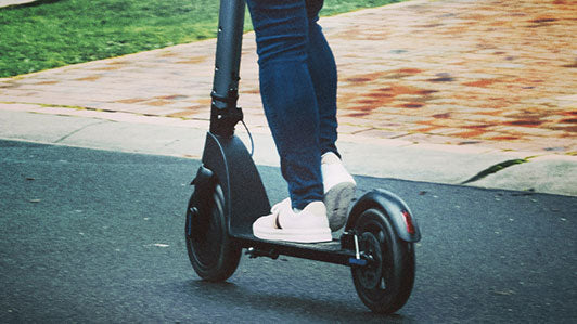 Image of an electric scooter