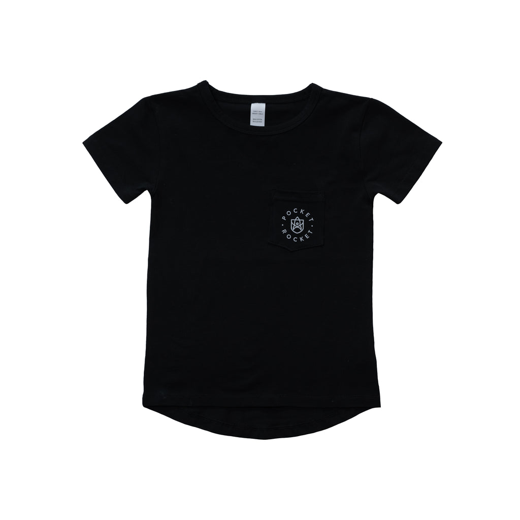 Just Like Mum Tee- black
