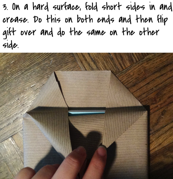 How to wrap a gift beve