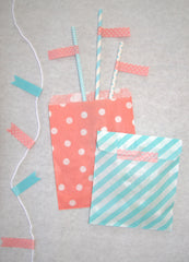 Gender Reveal Party Straws, Bags and Banner