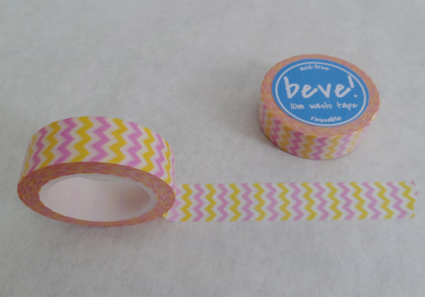 Chevron washi tape.