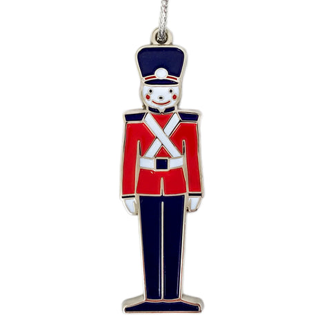 Toy Soldier Enamel Ornament