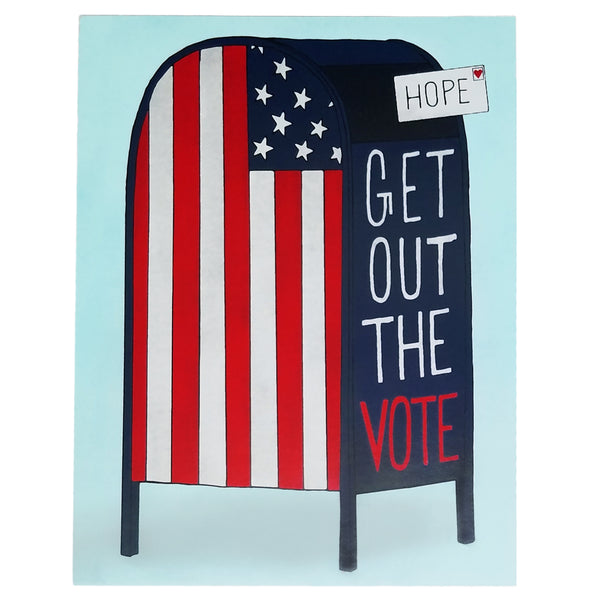 GOTV Postcard Sets - 2020 Get Out The Vote Set - 25% Donation to Win The Era - Free Shipping
