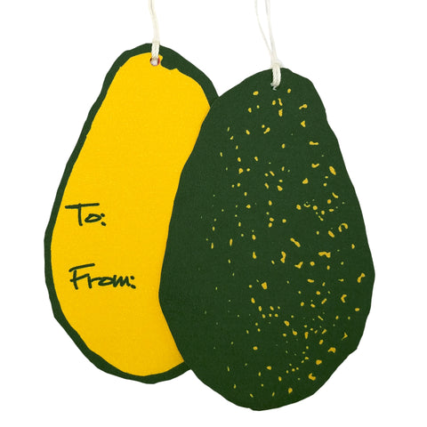 Avocado Gift Tags