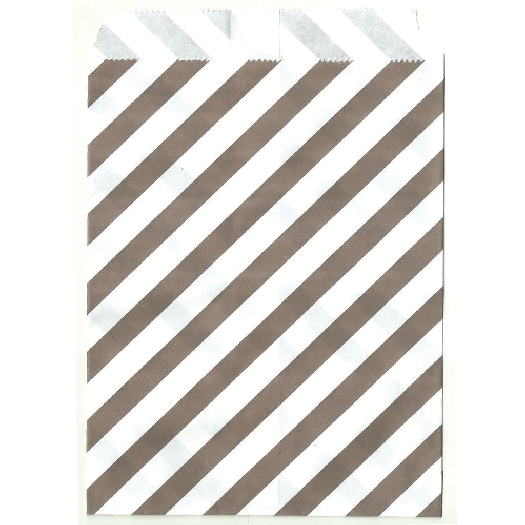 Grey striped treat sacks.