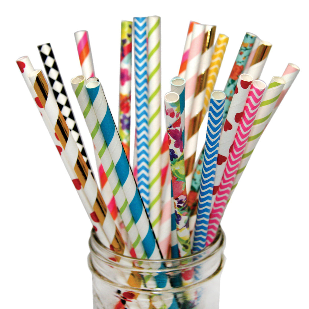Crazy Pack of Paper Straws!