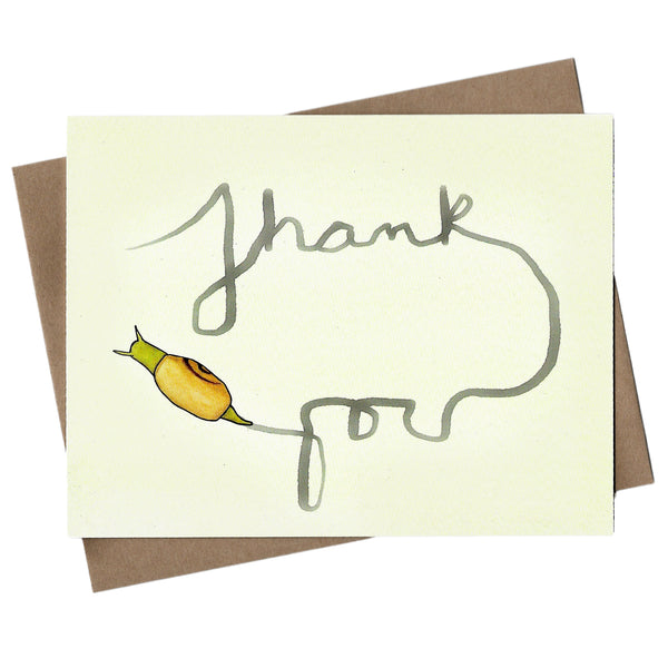 Snail Thank You Note Set