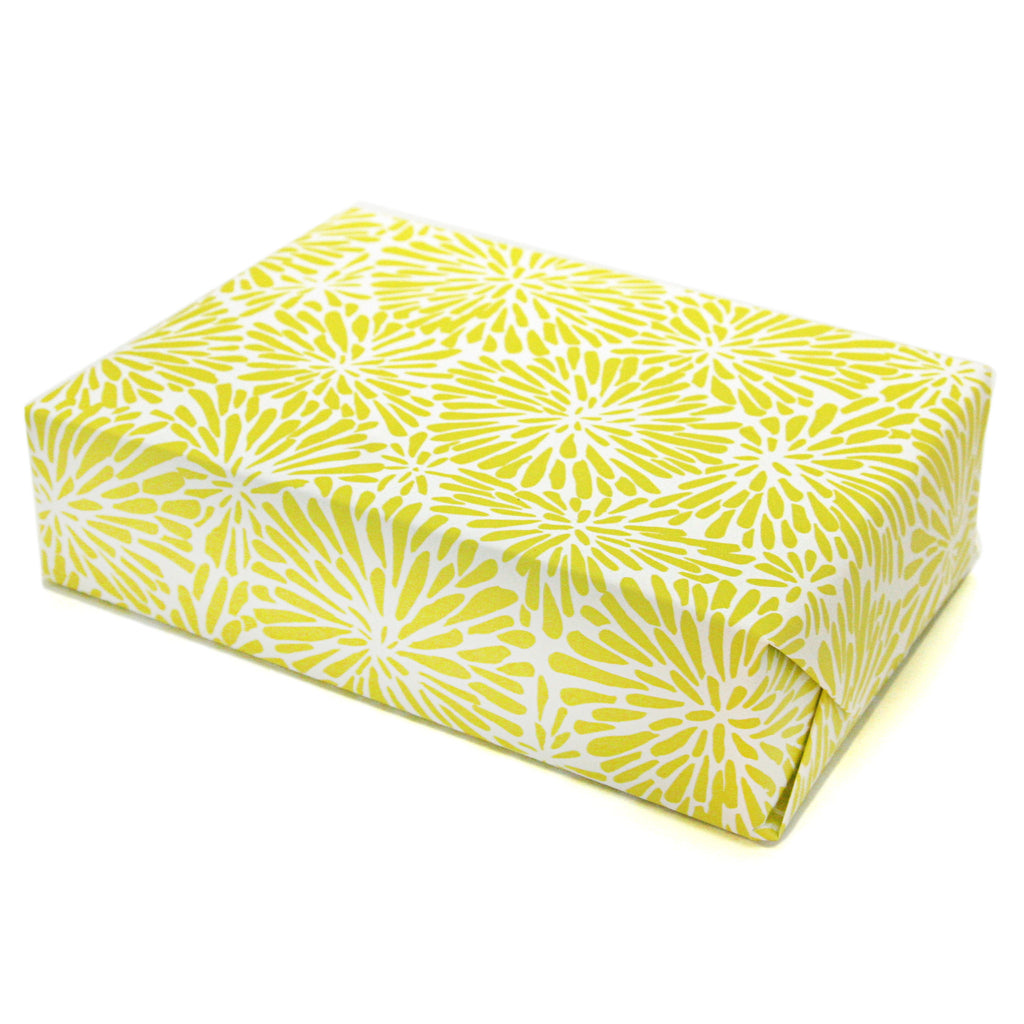 Acid Green Mum Gift Wrap Sheets