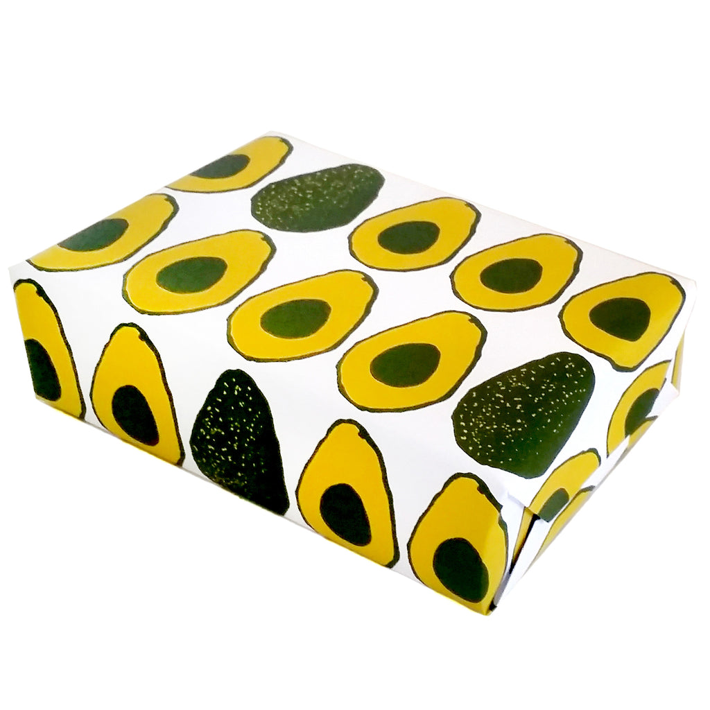 Avocado gift wrapping paper by beve