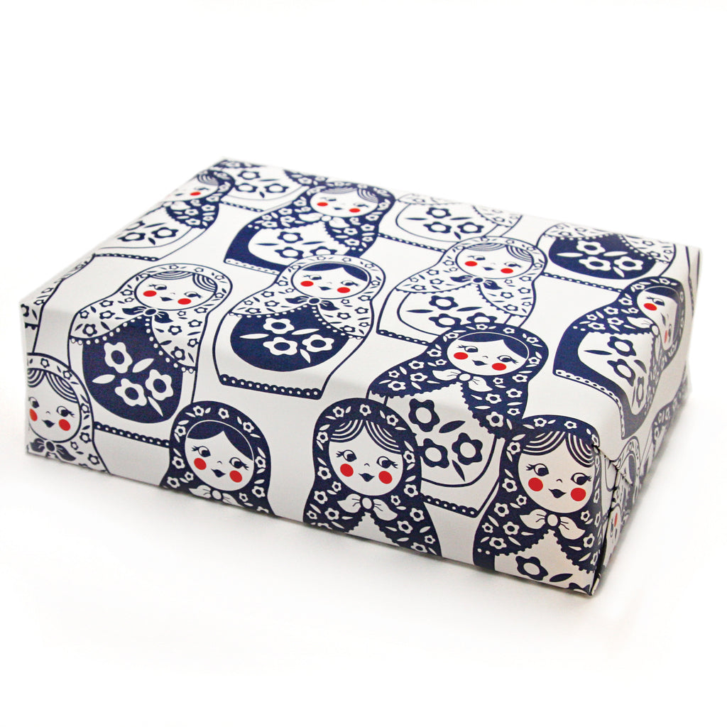 Matryoshka Doll Gift Wrap Sheets