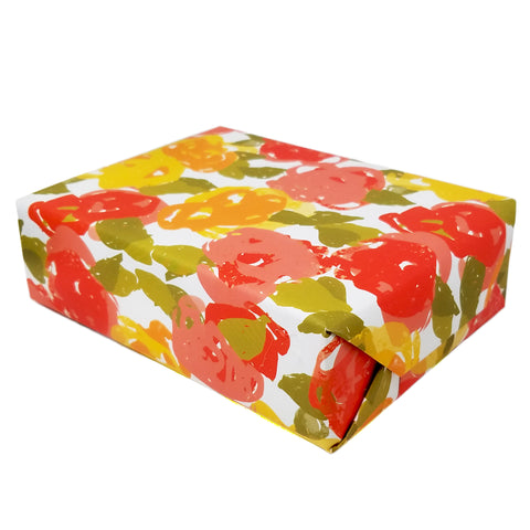 Vintage Floral Gift Wrapping Sheets