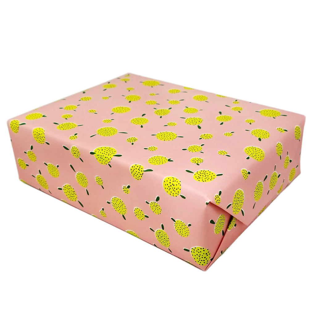 Pouf Floral Gift Wrapping Sheet