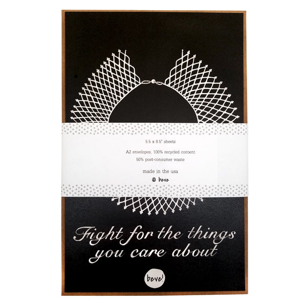 Ruth Bader Ginsburg Letter Writing Stationery Set