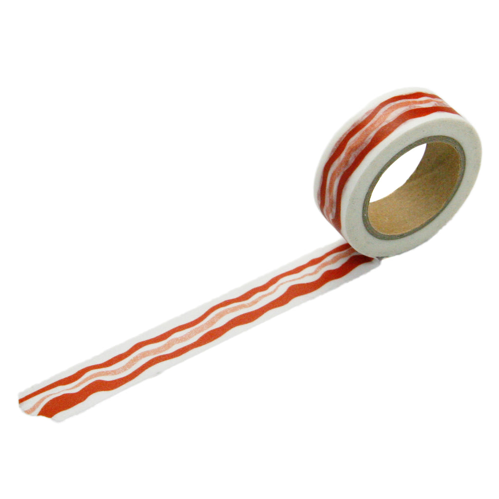 bacon washi tape - and endless strip of bacon!