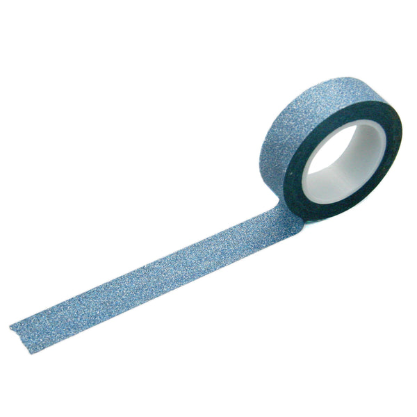 Blue Glitter Washi Tape