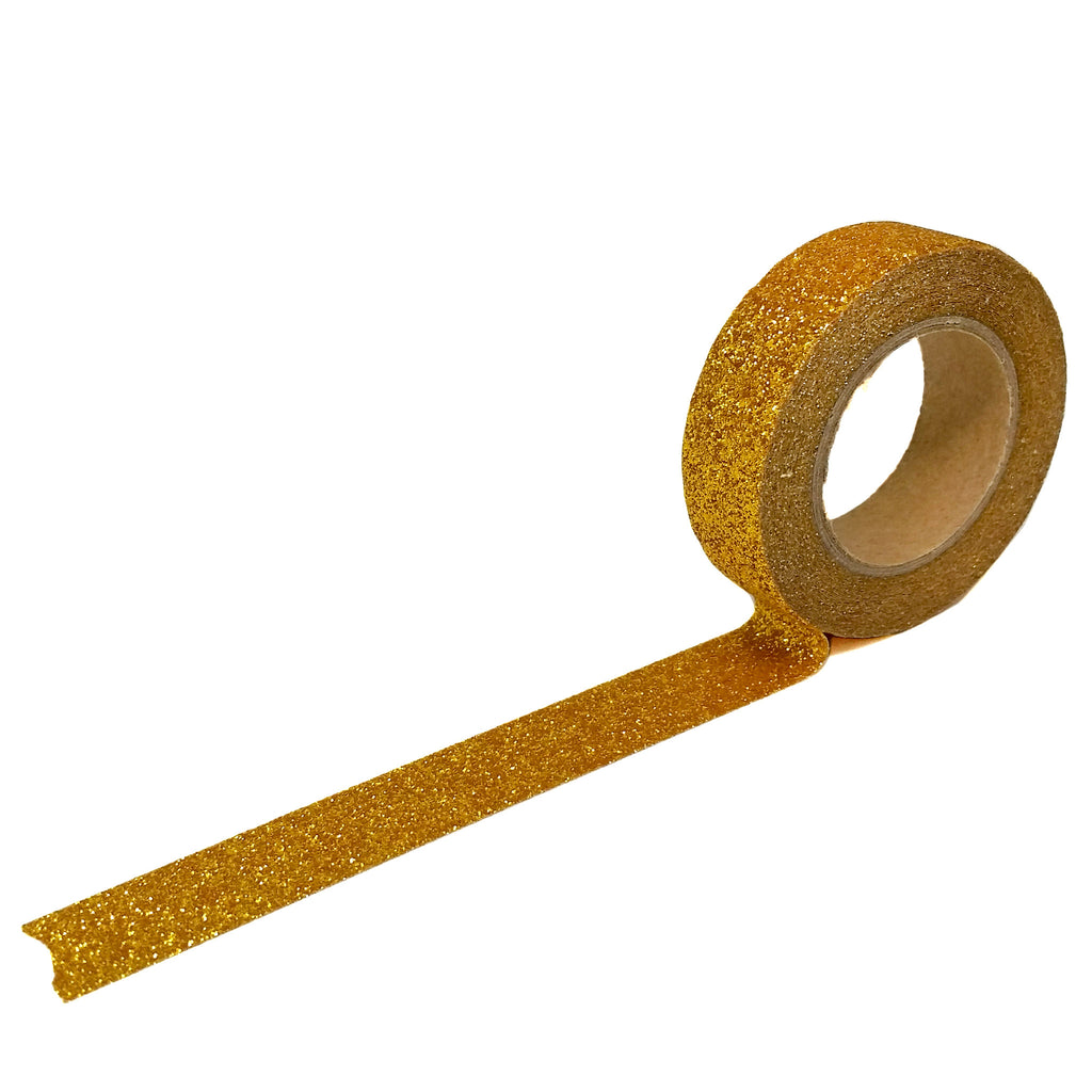 Gold Flash Glitter Washi Tape