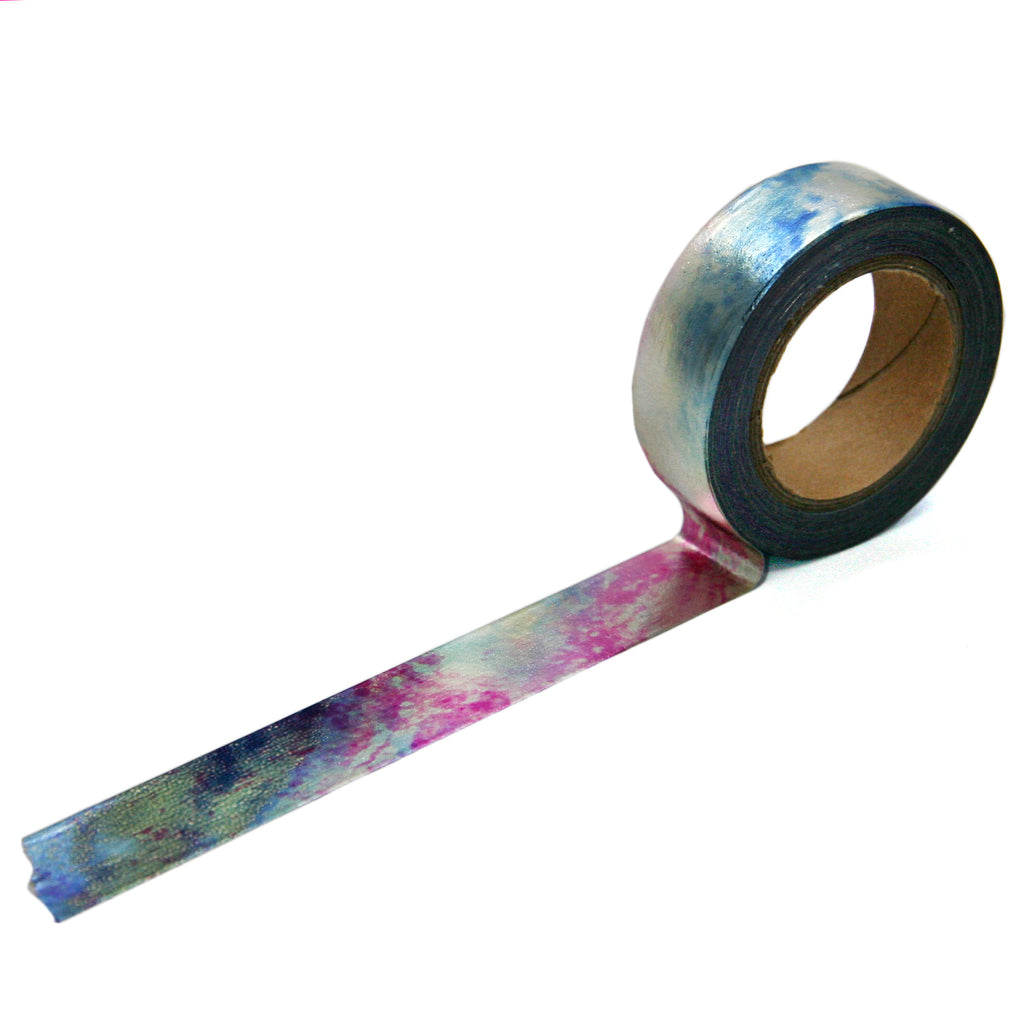 Iridescent Galaxy Foil Washi Tape