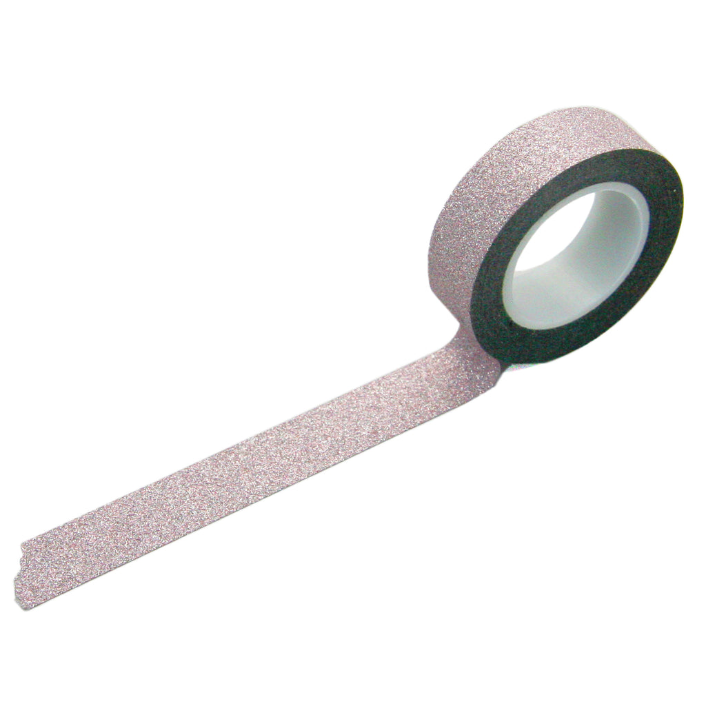 Light Pink Glitter Tape