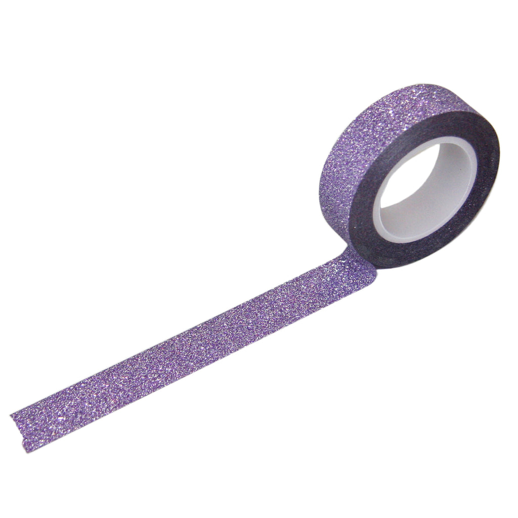 Purple Glitter Tape
