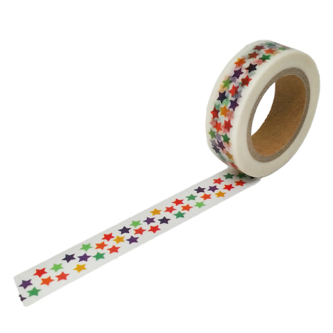 Rainbow Star Washi Tape by beve