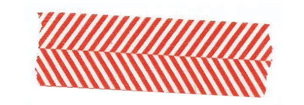 Red Herringbone Washi Tape