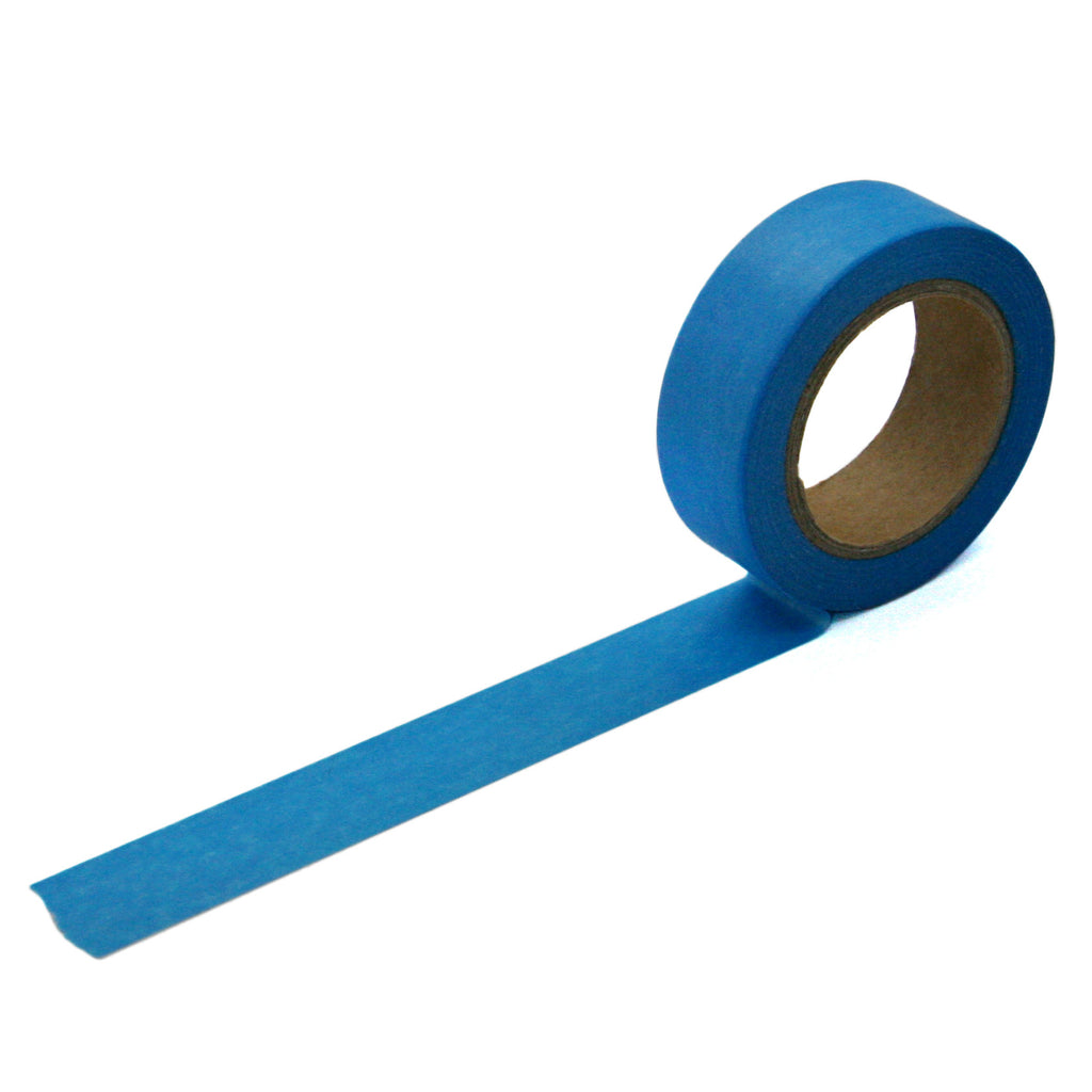 Solid Blue Washi Tape