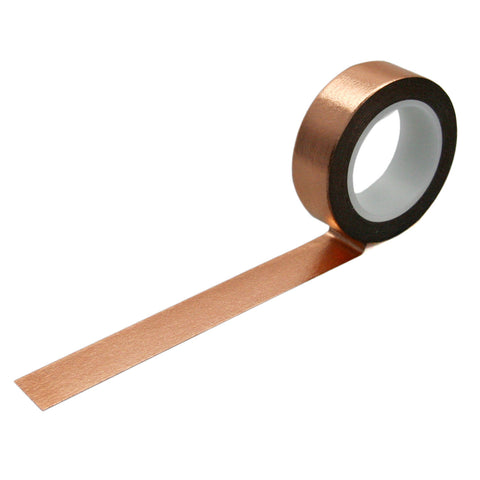 Solid Copper Foil Washi Tape