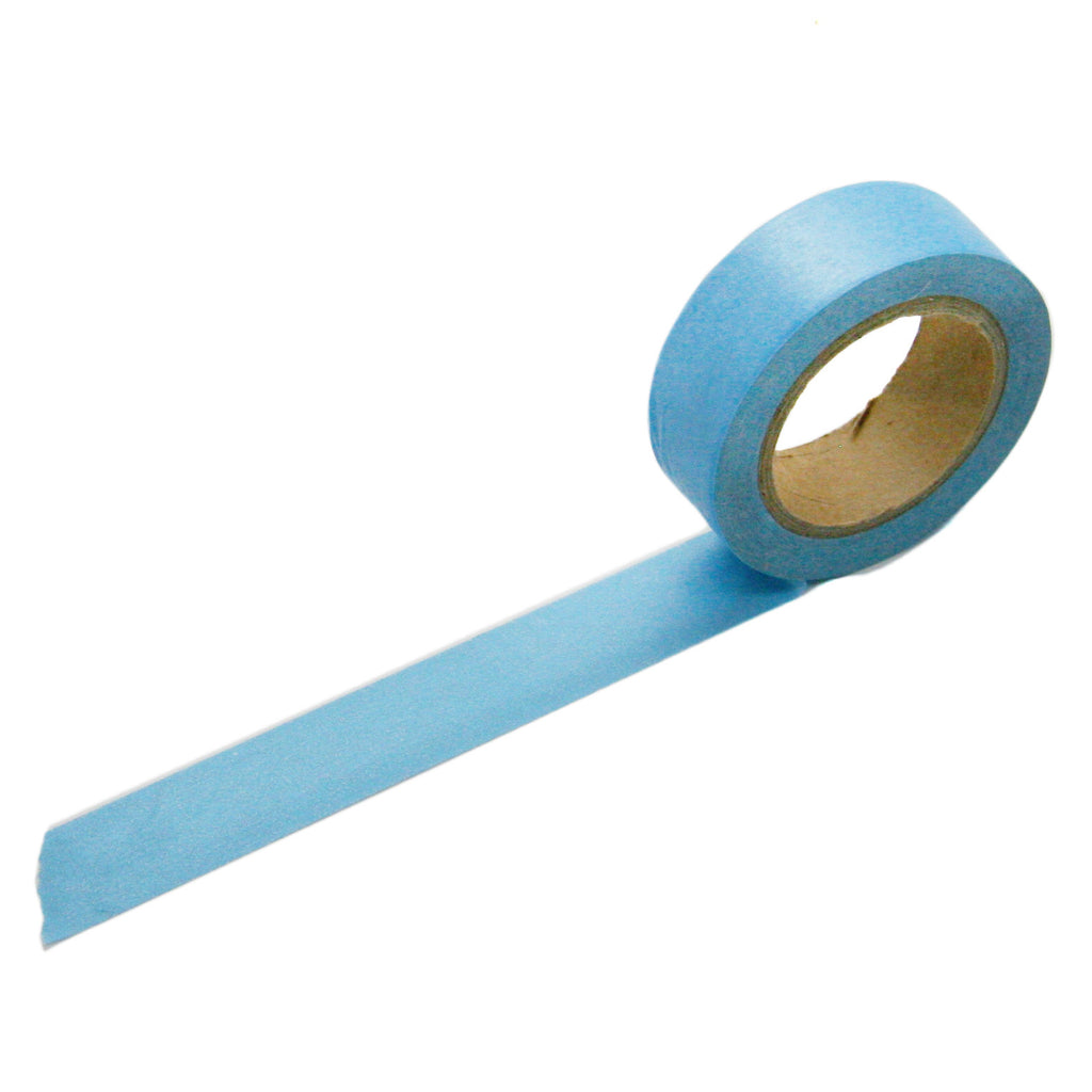 Solid Light Blue Washi Tape