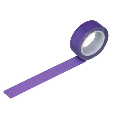 Solid Purple Washi Tape