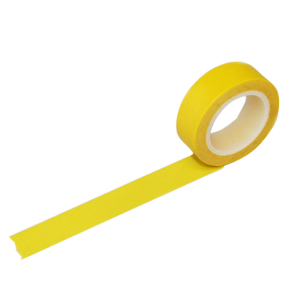 Solid Yellow Washi Tape