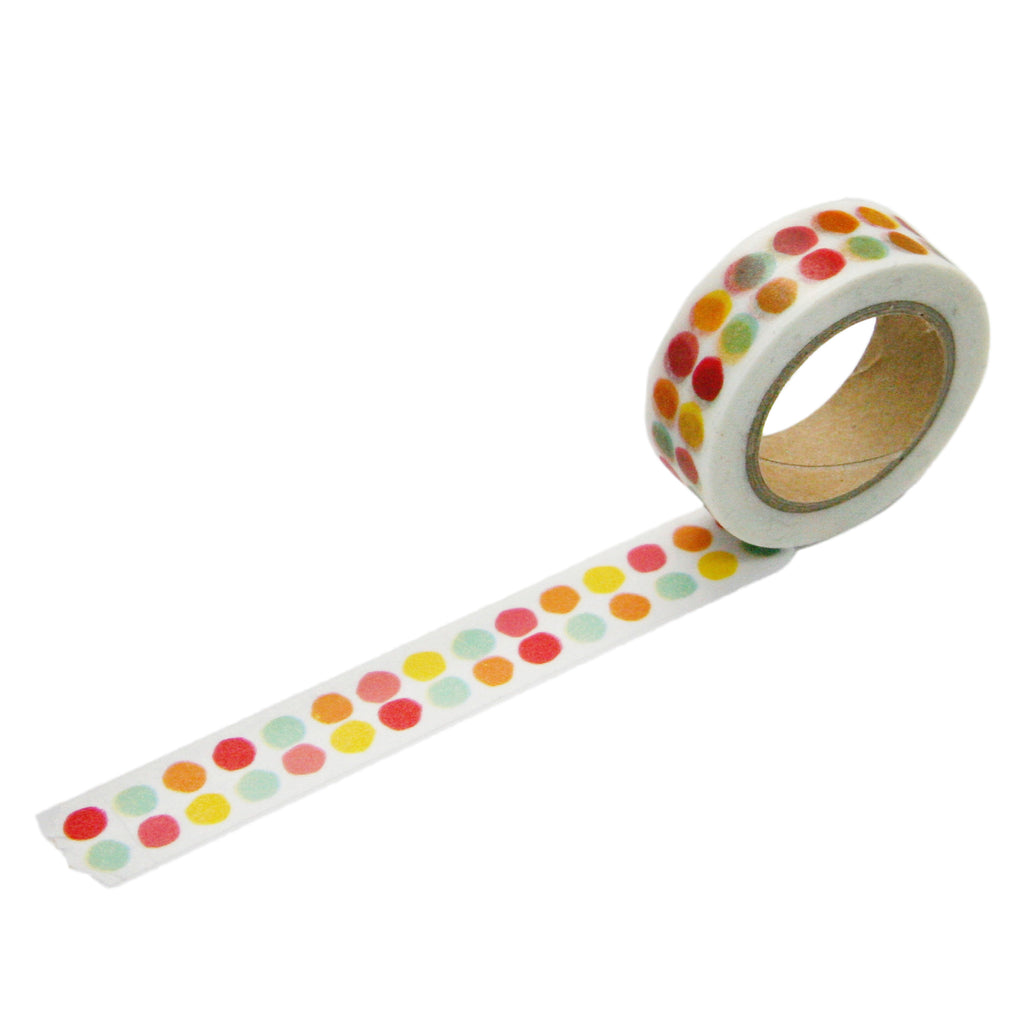 Tutti Frutti Double Dot Washi Tape
