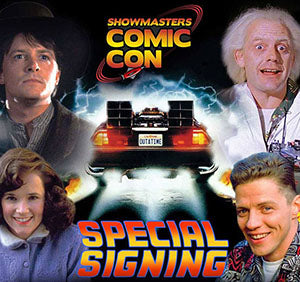 Back to the Future Signing Update