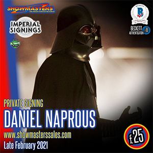 Daniel Naprous Private Signing