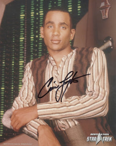 Cirroc Lofton 10x8 signed in black DST Official Picture