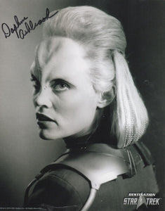Daphne Ashbrook 10x8 signed in black DST Official Picture