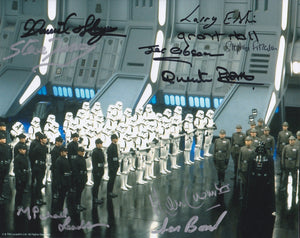 Star Wars VI 10x8 multi signed x 10 in mixed