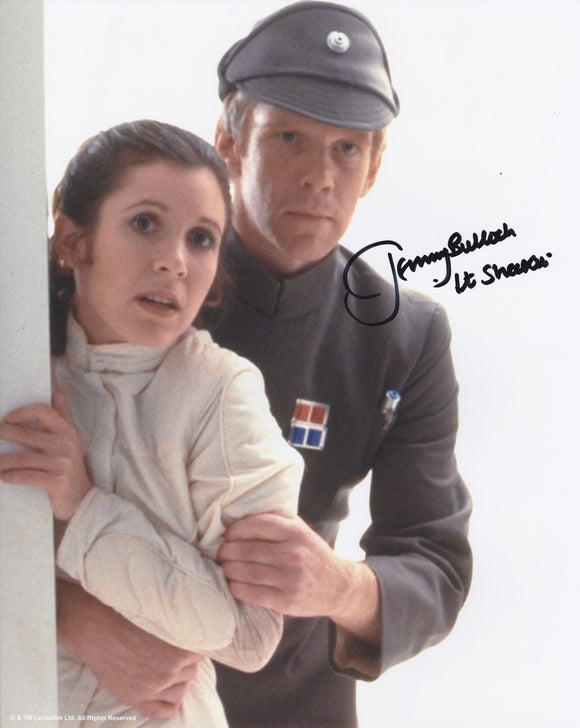 Jeremy Bulloch 10x8 signed in Black - Image L
