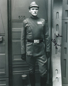 Julian Glover 10x8 signed in Black