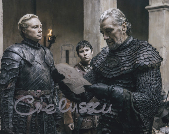 Clive Russell 10x8 signed in Silver