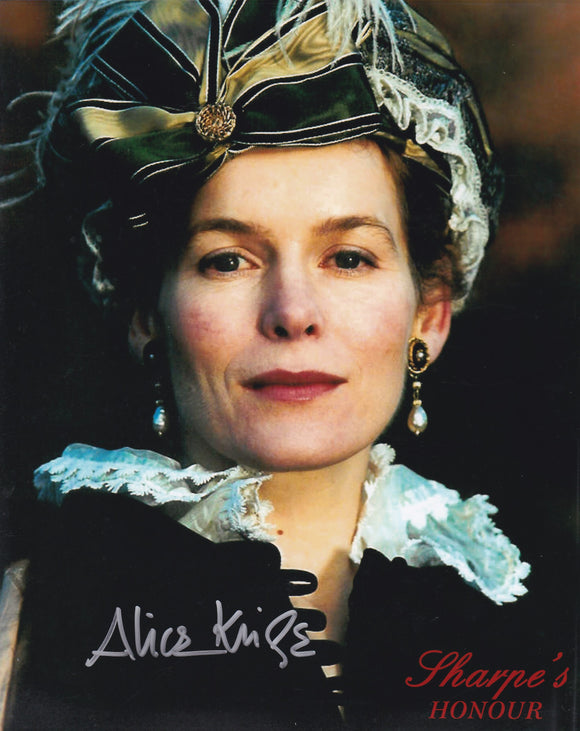 Alice Krige 10x8 signed in Silver
